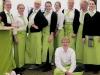 Restaurant-Team des Spargelhof Schäfer